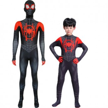 hot Miles Morales spider-man Costume in 2020