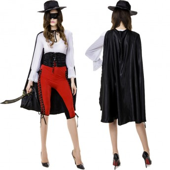 Halloween zorro costume for woman