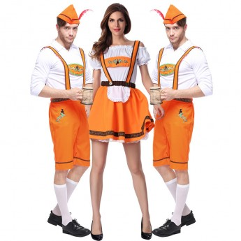 oktoberfest couple beer costume
