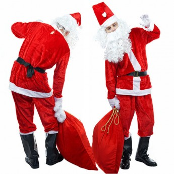 hot halloween christmas santa costume for groups in 2019
