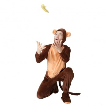 Monkey Costume Cosplay for adult