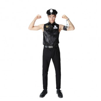 police costume for man