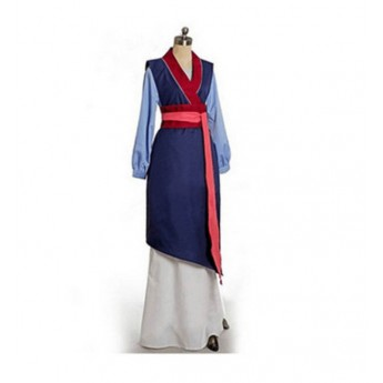 Mulan cosplay suit