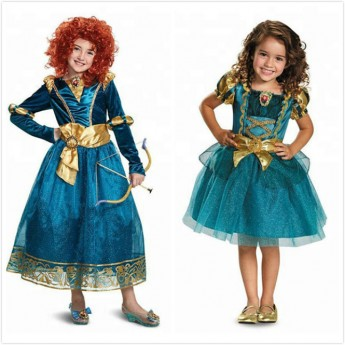 disney Brave Merida Royal costume wholesale