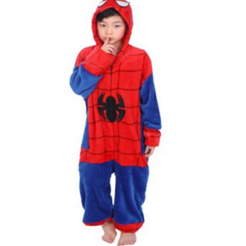 spiderman pajamas hoodie for kids