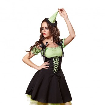 green mad hatter hat costume