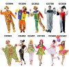 clown adult joker series dress clown costumes