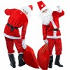 christmas santa costume for men