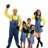 minions costume and goggles with hat halloween costumes
