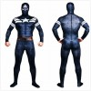 American captain cosplay costume in blue