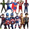 Marvel kids heros halloween costumes for groups