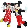 Mickey Minnie mouse Mascot Costume for Adult