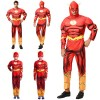 the flash superhero costume cosplay