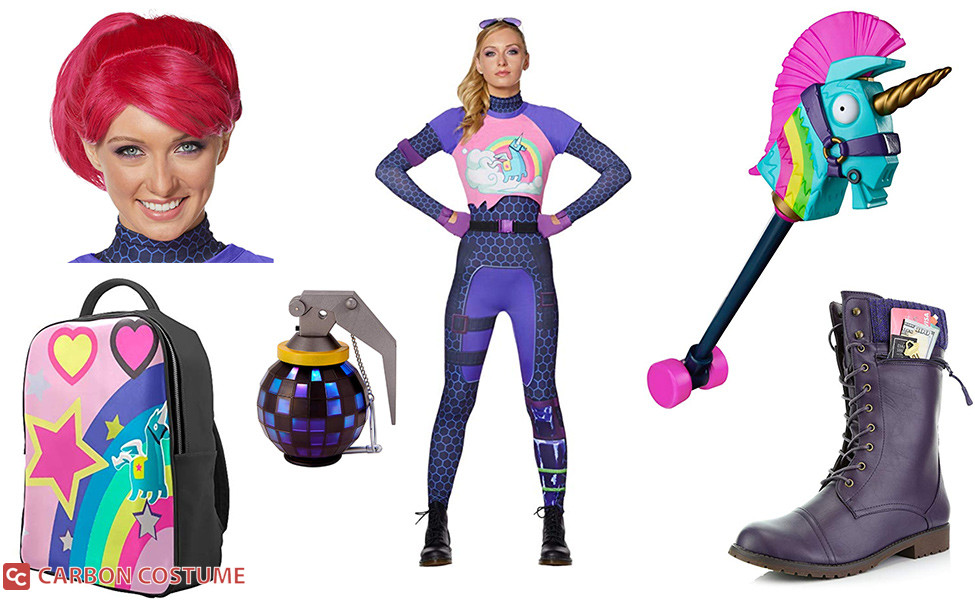 Fortnite brite bomber costume for kids