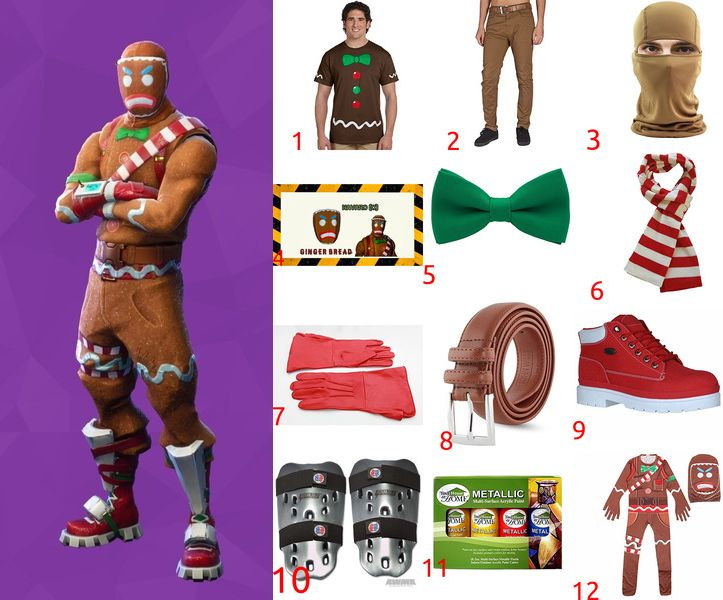 How to make Merry Marauder Costume from Fortnite