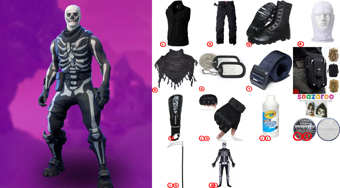 Skull Trooper Costume